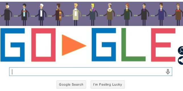 Google Doodle Celebrates <cite>Doctor Who</cite>'s 50th Anniversary