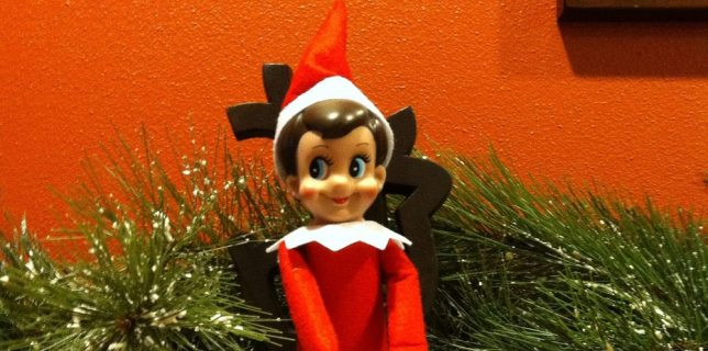 <cite>The Elf on the Shelf</cite> Smackdown