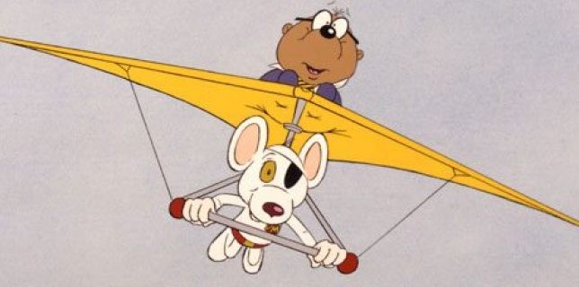 Dangermouse and his trusty sidekick, Penfold. Image: FremantleMedia Ltd/Rex Feature