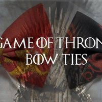 Game of Thrones Bow Ties