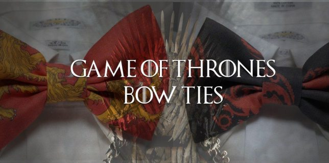 <cite>Game of Thrones</cite> Bow Ties