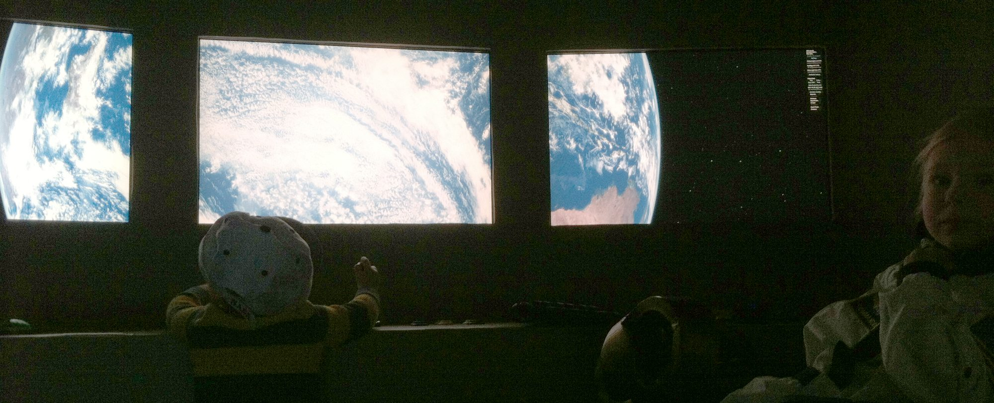 Daniel H. Wilson spacecraft simulator