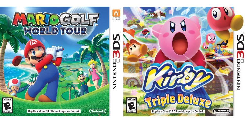 golf kirby 3ds