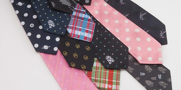 Star Wars Narrow Ties