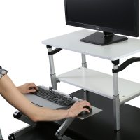 Adjustable Monitor Stand Makes Any Desk a Standing Desk