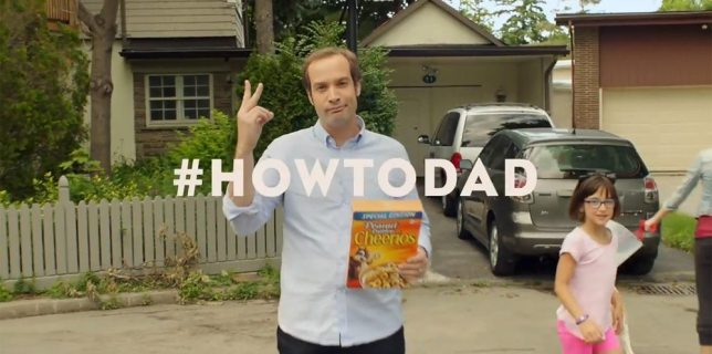 Dadvertising Spotlight: Cheerios' #HowtoDad Commercial