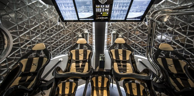Dragon V2 Interior
