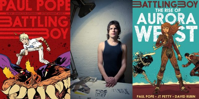 Battling Boy, Paul Pope, The Rise of Aurora West