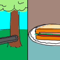 GeekDad Puzzle of the Week  – Chainsaw Sandwich