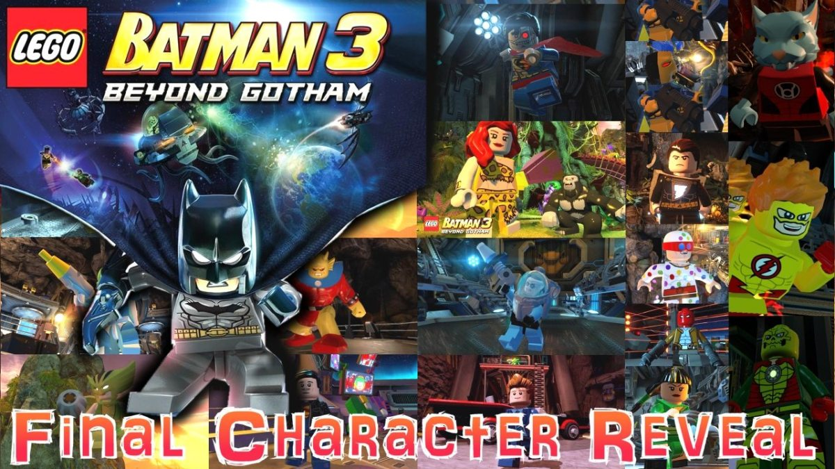 LEGO Batman 3 Character Analysis
