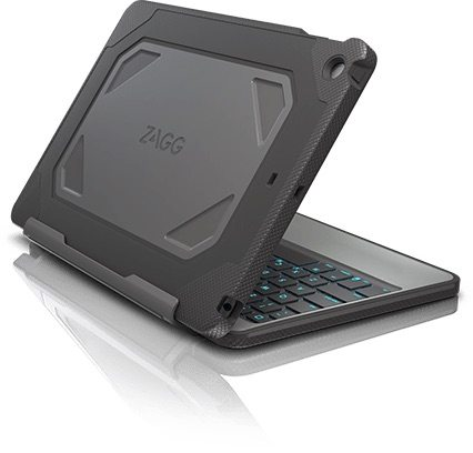 ZAGG in clamshell configuration