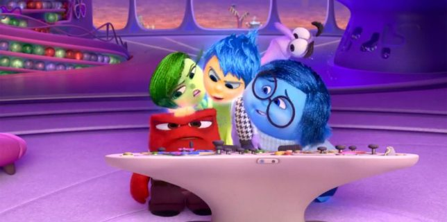 Inside Out Pixar