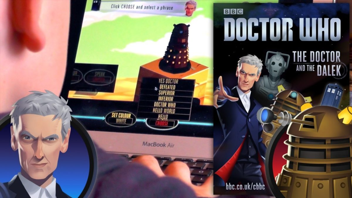 Doctor Who and the Dalek Teaches Players to Program
