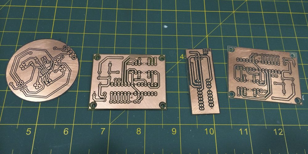 Etching Circuits at Home