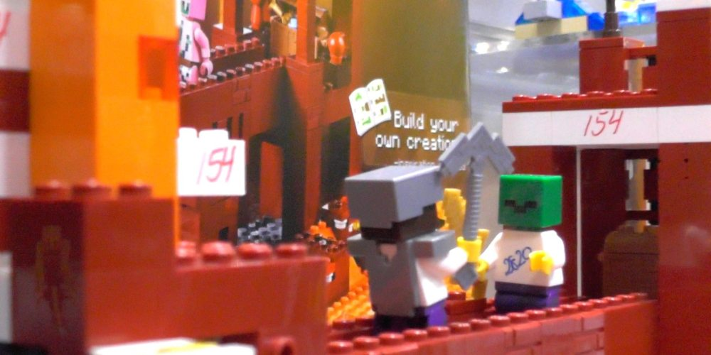 Minecraft LEGO Prototype