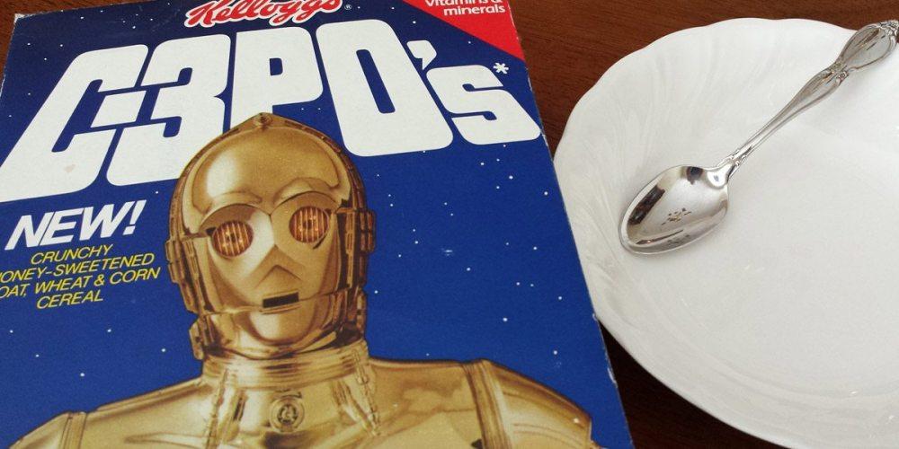 'Star Wars' C-3PO cereal