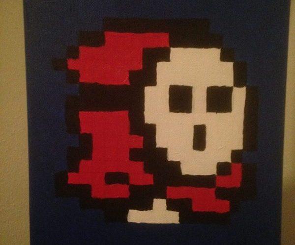 Pixel Paint - Shyguy