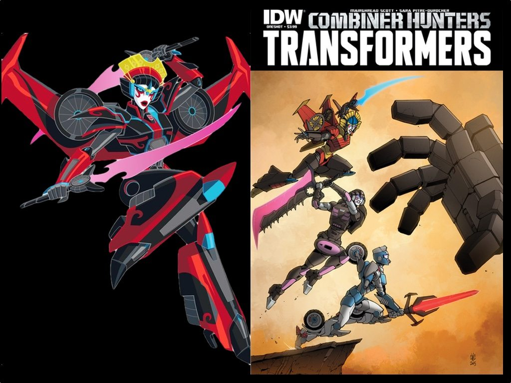 Left windblade s rid model right leading the charge in combiner