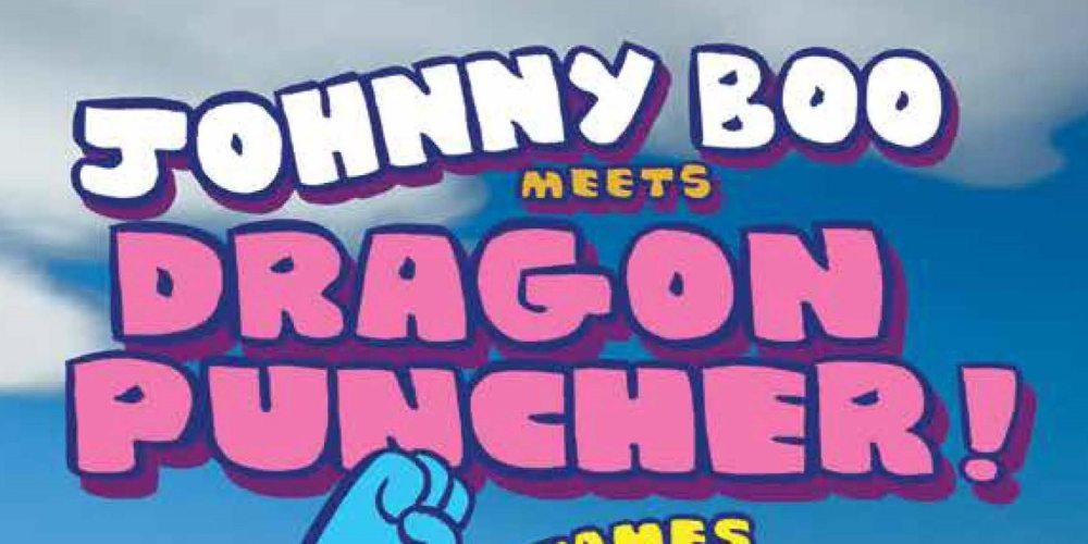 Johnny Boo Meets Dragon Puncher cover design - Copy