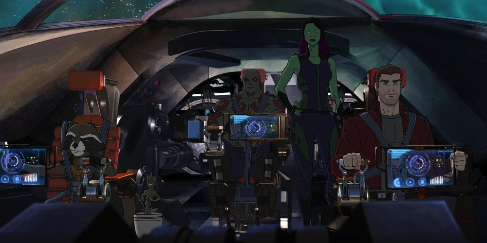 The Guardians are off again to do a little good a little bad, a bit of both, in the animated Guardians of the Galaxy on Disney XD.