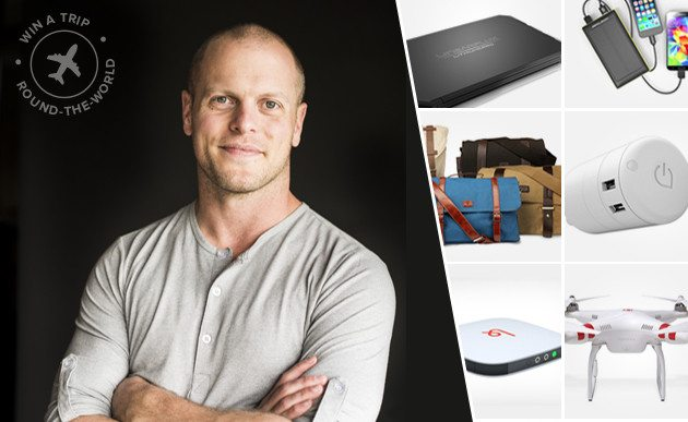 The Tim Ferriss Round-the-World Giveaway