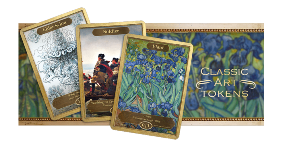 Image courtesy of: Classic Art Tokens by Josh Krause