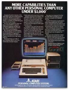 Old Atari Personal Computer Ad 2