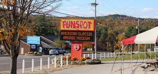Funspot in New Hampshire, the largest arcade in the world.