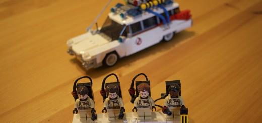 "Lego Ideas ""Ghostbusters"" set."