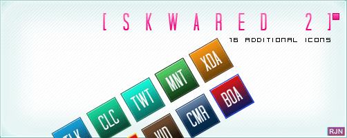 skwared vol 2 android icons