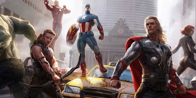 superhero cover photos avengers