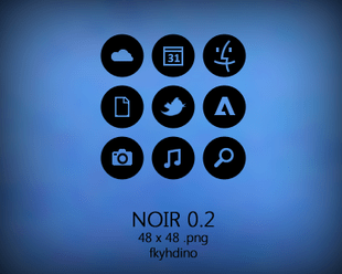 noir icon pack