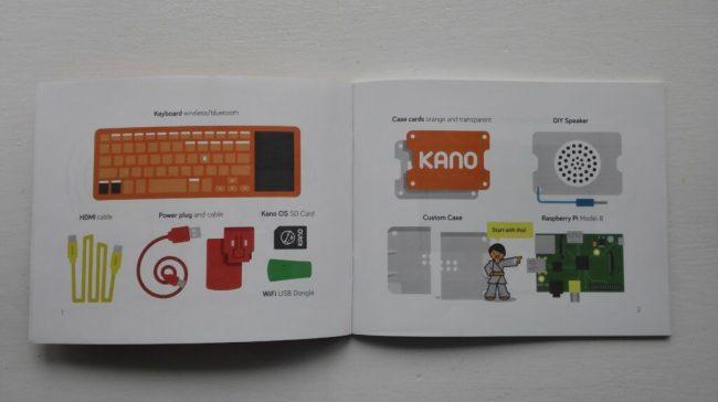 Kano instruction book