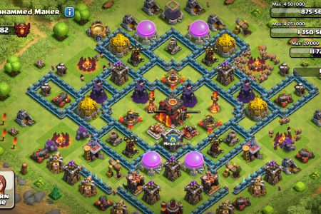 clash of clans mohammed maher