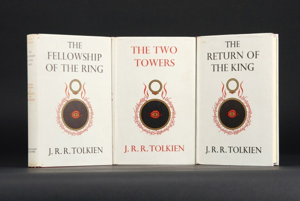 The most expensive Tolkien book ever, image courtesy of tolkienlibrary.com
