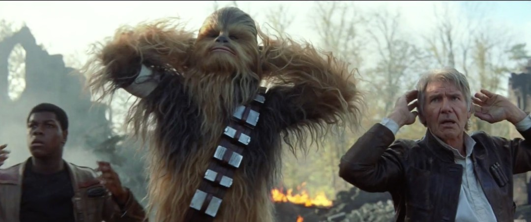 New star wars episode vii the force awakens trailer released
