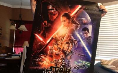 Dying Star Wars Fan Sees Force Awakens Early – Days Before He Passed Away