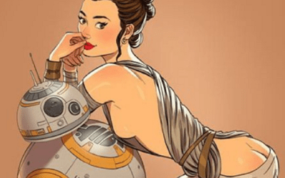 Sexy Star Wars Pin-up Girls by Andrew Tarusov