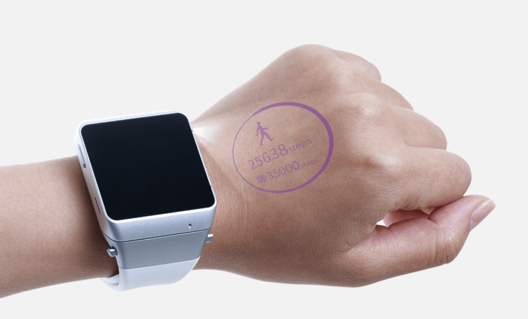 asu cast one smartwatch projector