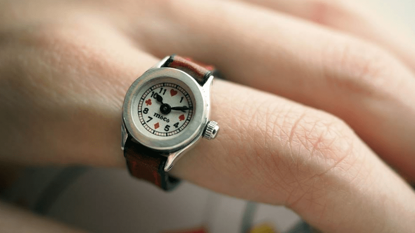 Moco Ring Watch (Finger Watch or Finger Clock)