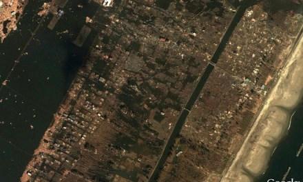 Impresionantes imágenes de antes y después del tsunami de Japón