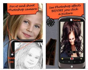 Camera fun free: aplica filtros antes de tomar tu foto