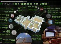 Actualizaciones tecnológicas para el hogar de un geek [Infografía]