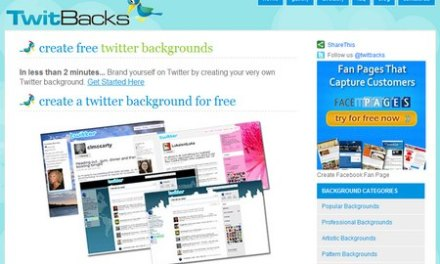TwitBacks, crea tu fondo de Twitter en menos de 2 minutos