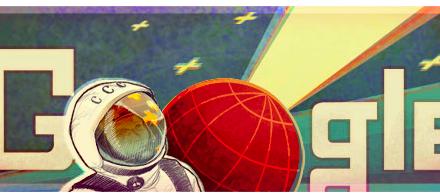 Google nos lleva al espacio con su doodle
