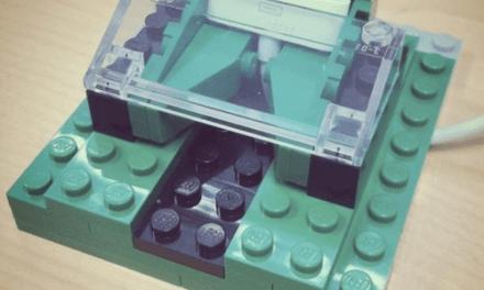 Crea tu propio dock para iPhone con legos!