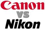 Canon vs Nikon la batalla final [Infografía]