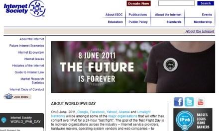 8 de Junio Día Mundial del IPv6