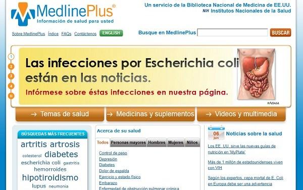 MedlinePlus, un lugar en la web que te ayuda a cuidar tu salud.