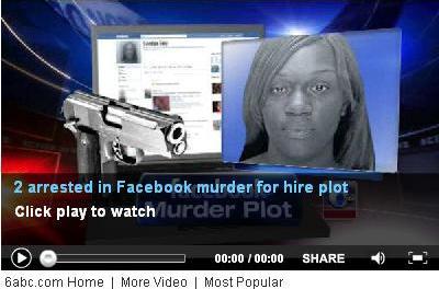 Arrestan mujer que por Facebook contrató a alguien para que mate a su ex-novio